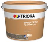 Краска-грунт под штукатурку TRIORA 10 литр