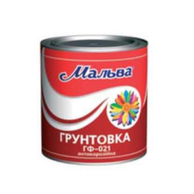 Грунтовка Мальва ГФ-021 АНТИКОРРОЗИОННАЯ (2.8 кг)