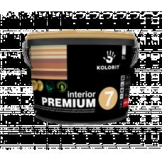 Латексная краска для внутренних работ Kolorit Interior Premium 7