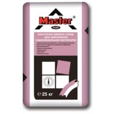 Клей для плитки- смесь Master Flex (25 кг)