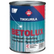 Краска для пола Tikkurila, Betolux для пола, 9 л