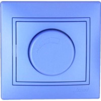 Диммер 500 Вт с фильтром и предохранителем Lezard Mira металик синий