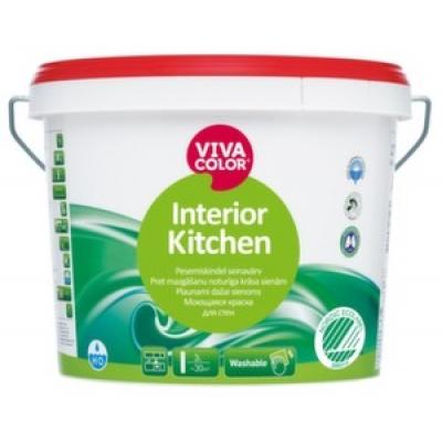 Моющаяся краска для стен Viva Color Interior Kitchen 2,7 л