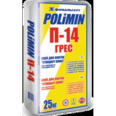 Клей для керамогранита Полимин П-14 (25 кг)