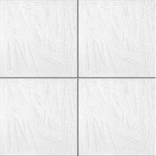 Потолочная плита РОМСТАР 26 30 м2 белая