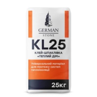 Клей для армування пінопласту GERMAN STONE KL-25 25 кг