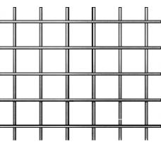 Сетка СВАРНАЯ не оцинкованная ШТУКАТУРНАЯ (25х12) d=0.7 мм.