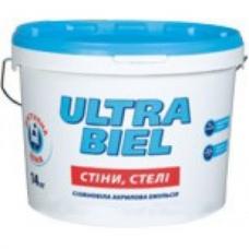 Акриловая краска Sniezka ULTRA BIEL (10 л)