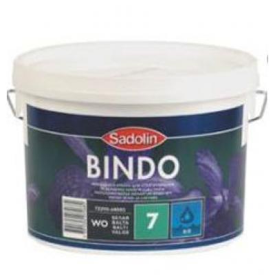 Краска Sadolin Bindo 7 WO матовая 1 л