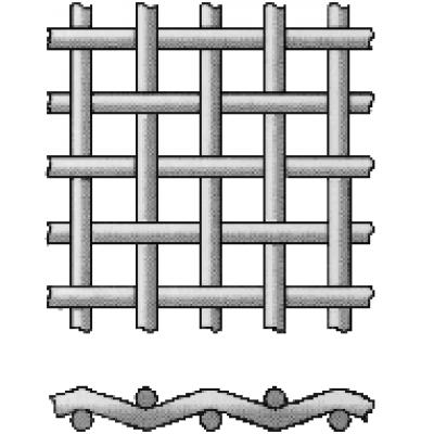 Сетка ТКАНАЯ неоцинкованная (ШТУКАТУРНАЯ) 12х12мм d=1 мм (м2)