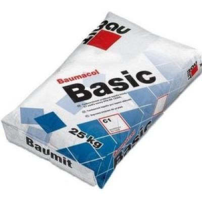 Baumacol Basic Клей для керамической облицовочной плитки (25 кг)