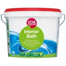 Влагостойкая краска для стен Interior Bath 0.9 л