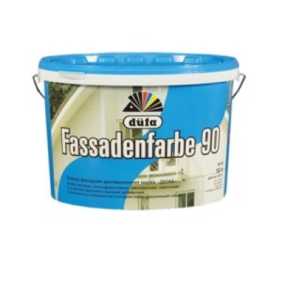 DUFA FASSADENFARBE Фасадная краска 10л
