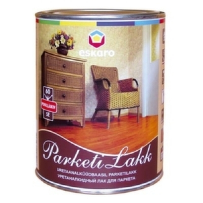 Лак Eskaro Parketilakk SE60 1 л полуглянцевый