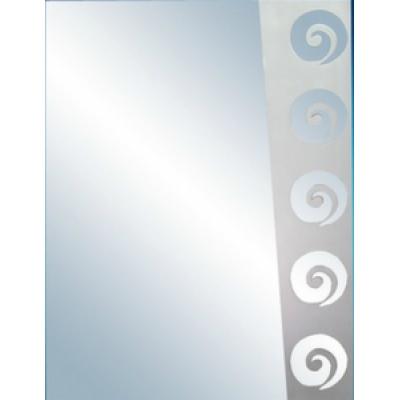 Зеркало 60 П с пескоструйным узором