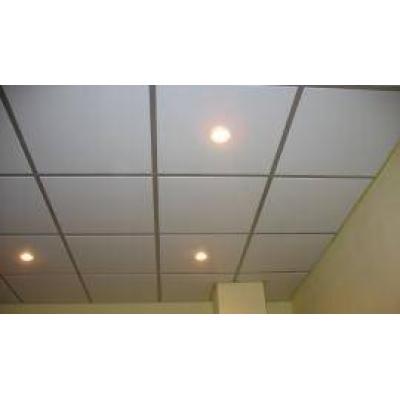Подвесные потолки Албес Кассетный потолок 600х600мм, белый матовый (шт.)