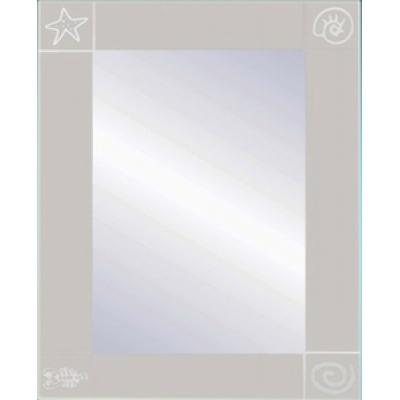 Зеркало 32 П с пескоструйным узором