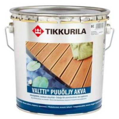 Валтти Аква Tikkurila масло для дерева (0.9 л)