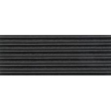 Ребристая 25мм*18.3м, черная (м. пог.)