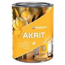 Краска Eskaro Akrit-4 А 0.95 л