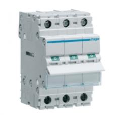Автоматический выключатель HAGER In=25 А, 3п, С, 6 kA, 3м
