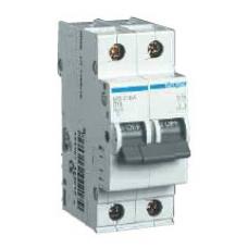 Автоматический выключатель HAGER In=32 А, 2п, С, 6 kA, 2м