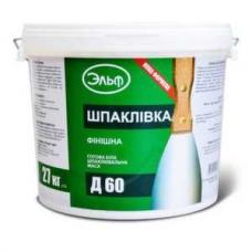 Акриловая шпаклевка Эльф Д60 (27кг)