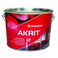 Краска Eskaro Akrit-12  9.5 л