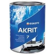 Краска Eskaro Akrit-7  9.5 л