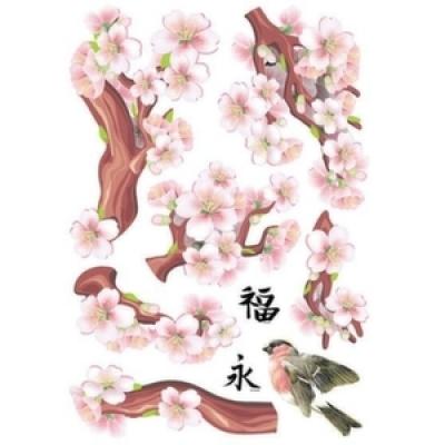 Наклейка 108 Сакура