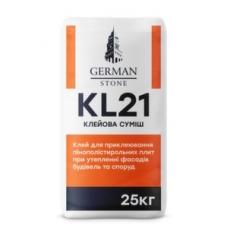 Клей для пінопласту GERMAN STONE KL-21 25 кг