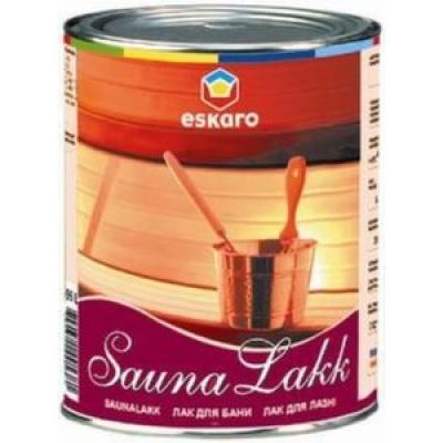 Лак Eskaro Saunalakk 2.4 л полуматовый