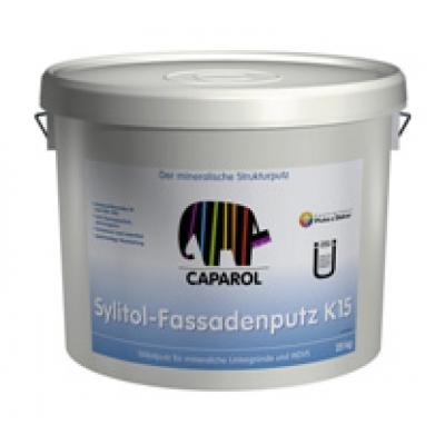 Силикатная штукатурка Caparol, Sylitol-Fassadenputze R_K, 25 кг