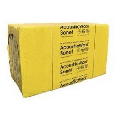 Акустическая минеральная вата AcousticWool Sonet (50*600*1000) 48 кг/м3 (6м2) (уп.)