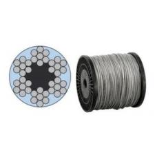 Трос стальной в оплетке 10мм 6x19+1FC (м.п.)