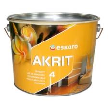 Краска Eskaro Akrit-4 А 9.5 л