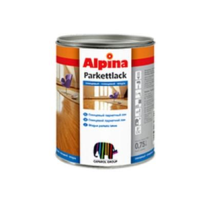 Лак Alpina Parkettlack 5 л Шелковистый мат