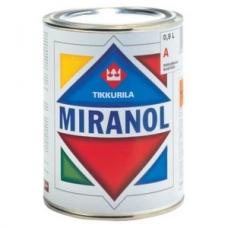 Высокоглянцевая универсальная алкидная эмаль Tikkurila Miranol, 9 л