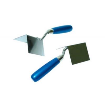 Мастерок штукатурный для внутренних углов, 11х7,5х7,5 см