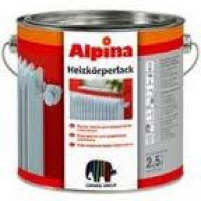 Эмаль Alpina Heizkorperlack Weiss для радиаторов 2.5 л