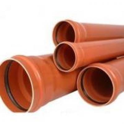 Труба наружная канализационная ПВХ 110х1000 мм