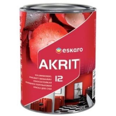 Краска Eskaro Akrit-12 A 2.85 л