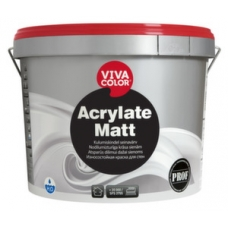 Износостойкая краска для стен Vivacolor Acrylate Matt (9 л)