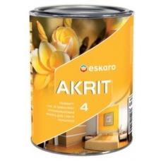 Краска Eskaro Akrit-4 А 9,5 л