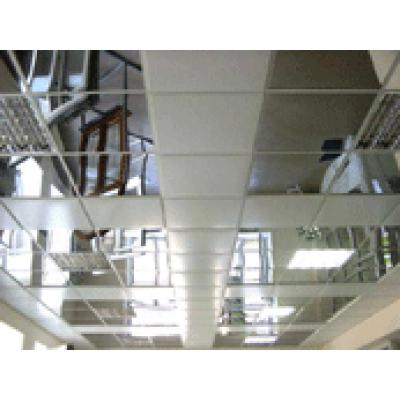 Потолочная панель р-р 600х600мм из тонколистовой нержавеющей 0,5 полированной стали (зеркало) (1 шт)