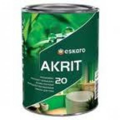 Краска Eskaro Akrit-20 А 2.85 л