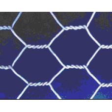 Сетка проволочная крученая с шестиугольной ячейкой (ШТУКАТУРНАЯ) без покрытия 38х38 d=0.6