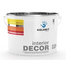 Декоративное структурное покрытие Kolorit Interior DECOR, 10 л