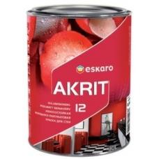 Краска Eskaro Akrit-12 A 9.5 л