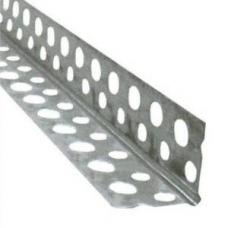 Угол перфорированный (алюминий) 2,5 м